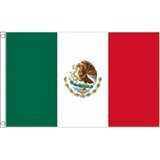 Mexico National Flag - Budget 5 x 3 feet Flags - United Flags And Flagstaffs