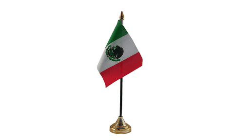 Mexico Table Flag Flags - United Flags And Flagstaffs