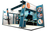 Modular Exhibition Stands Flags - United Flags And Flagstaffs