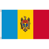 Moldova National Flag - Budget 5 x 3 feet Flags - United Flags And Flagstaffs