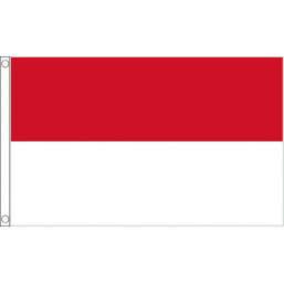 Monaco National Flag - Budget 5 x 3 feet