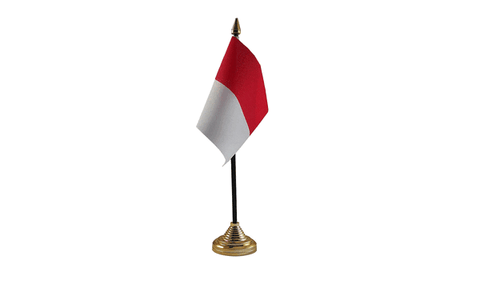 Monaco Table Flag Flags - United Flags And Flagstaffs