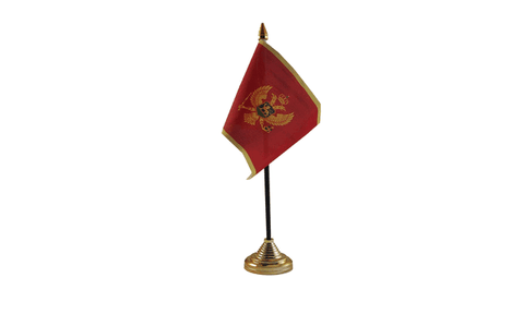 Montenegro Table Flag Flags - United Flags And Flagstaffs