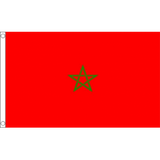 Morocco National Flag - Budget 5 x 3 feet Flags - United Flags And Flagstaffs