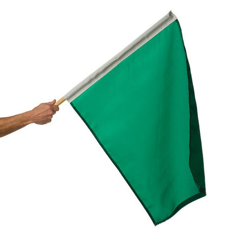 Motor Racing Flags - Green