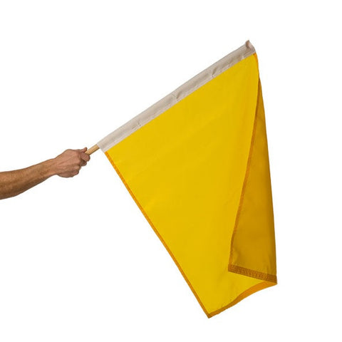 Motor Racing Flags - Yellow
