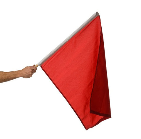 Motor Racing Flags - Red
