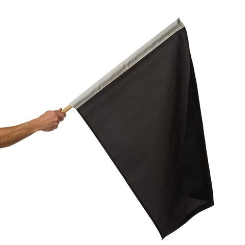 Motor Racing Flags - Black