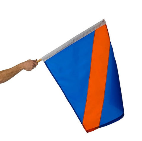 Motor Racing Flags - Blue