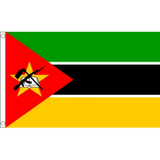 Mozambique National Flag - Budget 5 x 3 feet