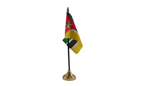Mozambique Table Flag Flags - United Flags And Flagstaffs