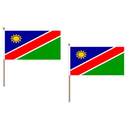 Namibia Fabric National Hand Waving Flag