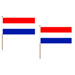 Netherlands Fabric National Hand Waving Flag