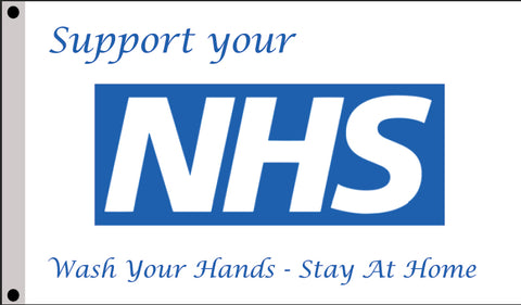 NHS Supporters Flag  - United Flags And Flagstaffs