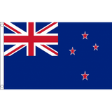 New Zealand National Flag - Budget 5 x 3 feet Flags - United Flags And Flagstaffs