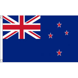 New Zealand National Flag - Budget 5 x 3 feet