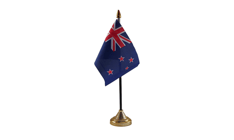 New Zealand Table Flag Flags - United Flags And Flagstaffs
