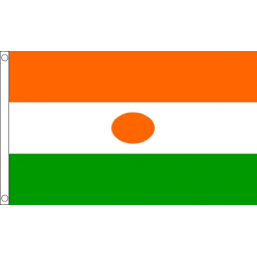 Niger National Flag - Budget 5 x 3 feet