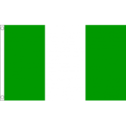 Nigeria National Flag - Budget 5 x 3 feet Flags - United Flags And Flagstaffs