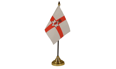 Northern Ireland Table Flag Flags - United Flags And Flagstaffs