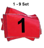 Golf Flag Sets - Numbered 1-9 or 10-18 Flags - United Flags And Flagstaffs