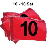 Golf Flag Sets - Numbered 1-9 or 10-18