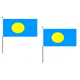Palau Fabric National Hand Waving Flag