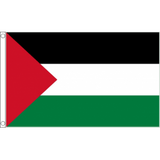 Palestine National Flag - Budget 5 x 3 feet Flags - United Flags And Flagstaffs