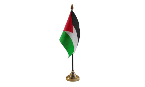 Palestine Table Flag Flags - United Flags And Flagstaffs