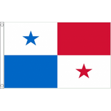 Panama National Flag - Budget 5 x 3 feet Flags - United Flags And Flagstaffs