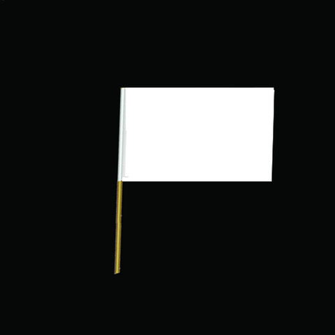 Custom Printed Paper Hand Wavers Flags - (500 Pack - 60p per unit) Flags - United Flags And Flagstaffs