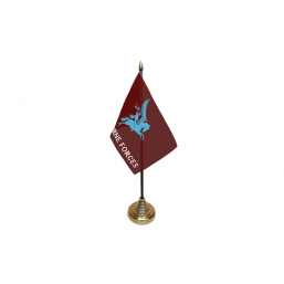 Pegasus Airborne - Military Table Flag Flags - United Flags And Flagstaffs