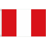 Peru (Civil) National Flag - Budget 5 x 3 feet