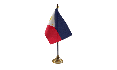 Philippines Table Flag Flags - United Flags And Flagstaffs