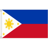 Phillipines National Flag - Budget 5 x 3 feet