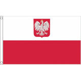 Poland (State) National Flag - Budget 5 x 3 feet Flags - United Flags And Flagstaffs