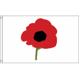 Poppy Flag - British Military Flags - United Flags And Flagstaffs