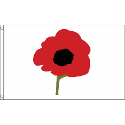 Poppy Flag - British Military