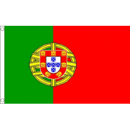 Portugal National Flag - Budget 5 x 3 feet Flags - United Flags And Flagstaffs