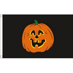 Halloween Flags - Pumpkin