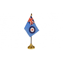 RAF - Military Table Flag Flags - United Flags And Flagstaffs