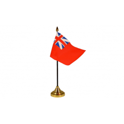 Colonial Red Ensign - Military Table Flag Flags - United Flags And Flagstaffs