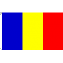 Romania National Flag - Budget 5 x 3 feet