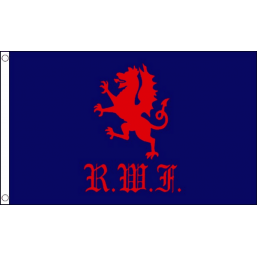 Royal Welch Fusiliers Flag - British Military Flags - United Flags And Flagstaffs