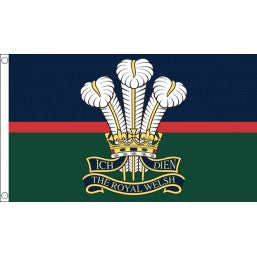 Royal Welsh Regiment Flag - British Military Flags - United Flags And Flagstaffs