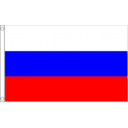 Russia National Flag - Budget 5 x 3 feet Flags - United Flags And Flagstaffs