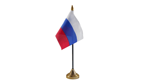 Russia Table Flag Flags - United Flags And Flagstaffs