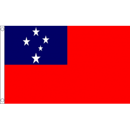 Samoa National Flag - Budget 5 x 3 feet Flags - United Flags And Flagstaffs