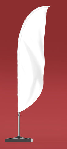 Feather Flag - Curve Flags - United Flags And Flagstaffs