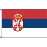 Serbia (State) National Flag - Budget 5 x 3 feet Flags - United Flags And Flagstaffs
